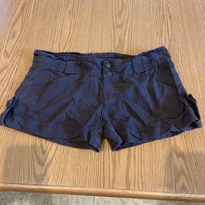 Women's 4 Juicy Couture brown shorts